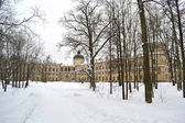 Winter in Gatchina park — Stock Photo