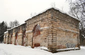 Old ruins in Gatchina park — Stock fotografie