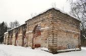 Gamla ruiner i gatchina park — Stockfoto