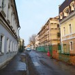 Street in the old part of Minsk — Stock Photo