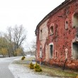 Wall of the Brest Fortress in Brest — Stock Photo #7873335