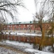 Stock Photo: View of river Mukhavets in Brest Fortress