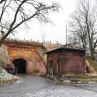 Stock Photo: Old gate in Brest Fortress