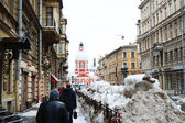 Winter St.Petersburg — Stock Photo