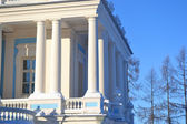 колоннада katalnaya горка павильон — Стоковое фото