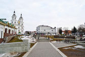 Area in the center of Minsk — Stock Photo