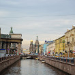 Stock Photo: Griboyedov Canal in St. Petersburg