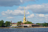 The Peter and Paul Fortress, St.Petersburg — Stock Photo