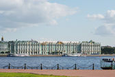 View of the Palace Embankment, St.Petersburg — Stock Photo