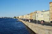 サンクトペテルブルグで英語の堤防 — ストック写真