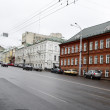 View of street in Vitebsk on a cloudy spring day — Stock Photo #7951710