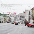 View of street in Vitebsk on a cloudy spring day — Stock Photo #7951713