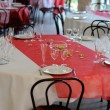 Table before the celebration - View 4 — Stock Photo
