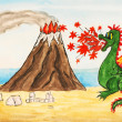 Dragon New Year comes to Italy — Stock Photo #7070466