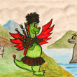 Dragon New Year comes to Scotland — Stock Photo #7103804