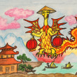 Dragon New Year comes to China — Stock Photo #7214036