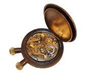 Eski kronometre üzerinde beyaz izole — Stok fotoğraf