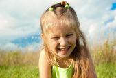 Portrét holčička — Stock fotografie