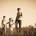 Happy family — Stock Photo #7364547