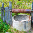 Old well in garden - ストック写真