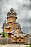Wooden church — 图库照片