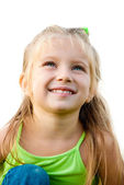 Smiling girl — Stock Photo