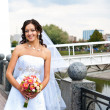 Smiling bride — Stock Photo #7642391