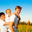 Happy family — Stock Photo #7642405