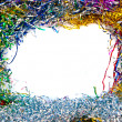 Tinsel frame — Foto Stock