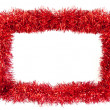 Stock Photo: Tinsel frame