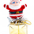 Toy santa claus — Stockfoto