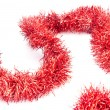 Red tinsel — Stock Photo #7877804