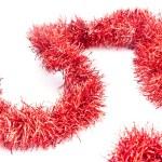 röd glitter — Stockfoto