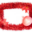 Royalty-Free Stock Photo: Tinsel frame
