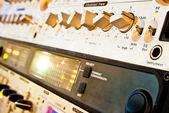 Attrezzature amplificatore — Foto Stock