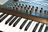 Synthesizer — Stockfoto