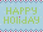 вязаный свитер для праздников — Стоковое фото