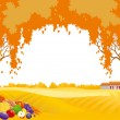 Thanksgiving background - Stock Vector