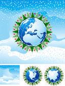 Christmas background — Vecteur