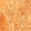 Wooden or chip board background — Stock Photo