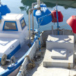 Stock Photo: Fishing boats