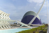 City of Arts and Sciences in Valencia — Stock Photo