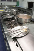 промышленные кухни — Стоковое фото