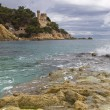 Lloret de Mar beach — Stock Photo #6962634