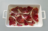 Ham serrano — Stock Photo
