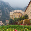 Monastery in Montserrat, Spain - Stock Photo