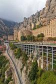 Monastery in Montserrat, Spain — Stock Photo