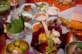 Thai culture wedding stuffs — Stock Photo