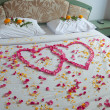 Stock Photo: Thai wedding bedroom