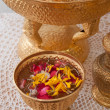 Stock Photo: Thai buddhism wedding flower